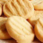 Biscoitos de batata doce.