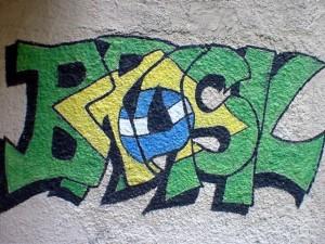 Grafite do nome Brasil
