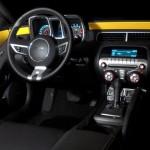Camaro Amarelo interior