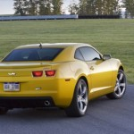Camaro Amarelo traseira