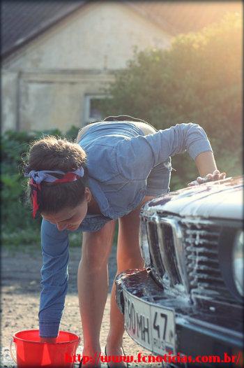 Como lavar adequadamente um carro?