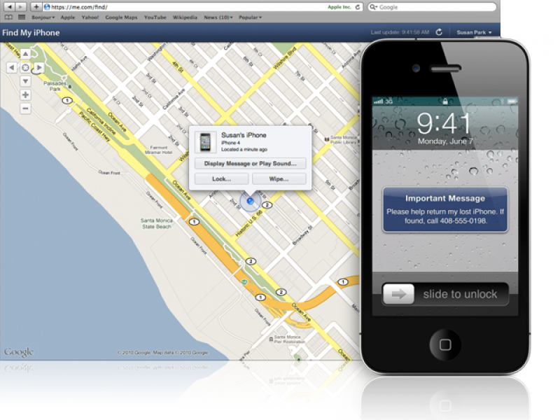 Como localizar iPhone roubado