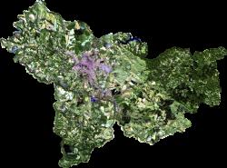 Imagem do Satélite - PR Geopotal de Ponta Grossa.