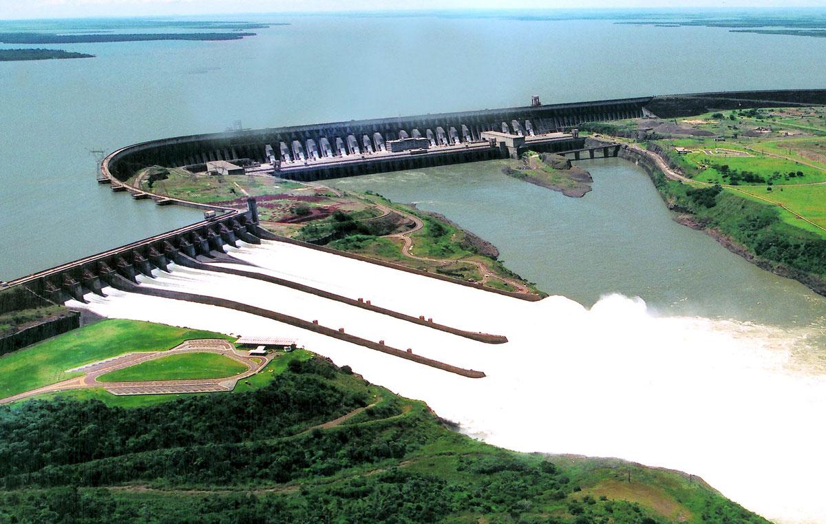 Hidroelétrica Itaipu - Brasil