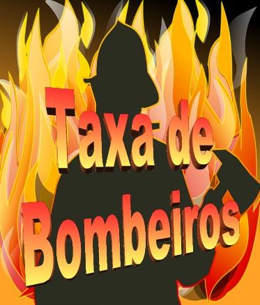 Resultado de imagem para 'TAXA DE BOMBEIROS'