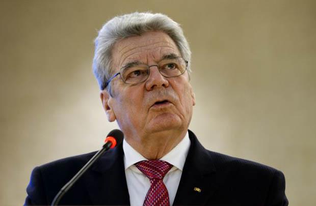 Joachim Gauck atual presidente da Alemanha