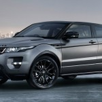 Land Rover Evoque preta