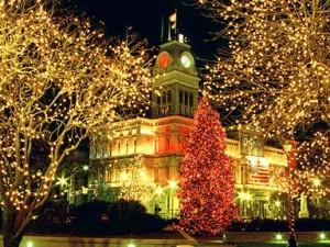 Tradição das Luzes de Natal