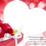 Moldura de coração