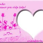 Moldura rosa