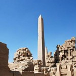 Obelisco egípcio cidade