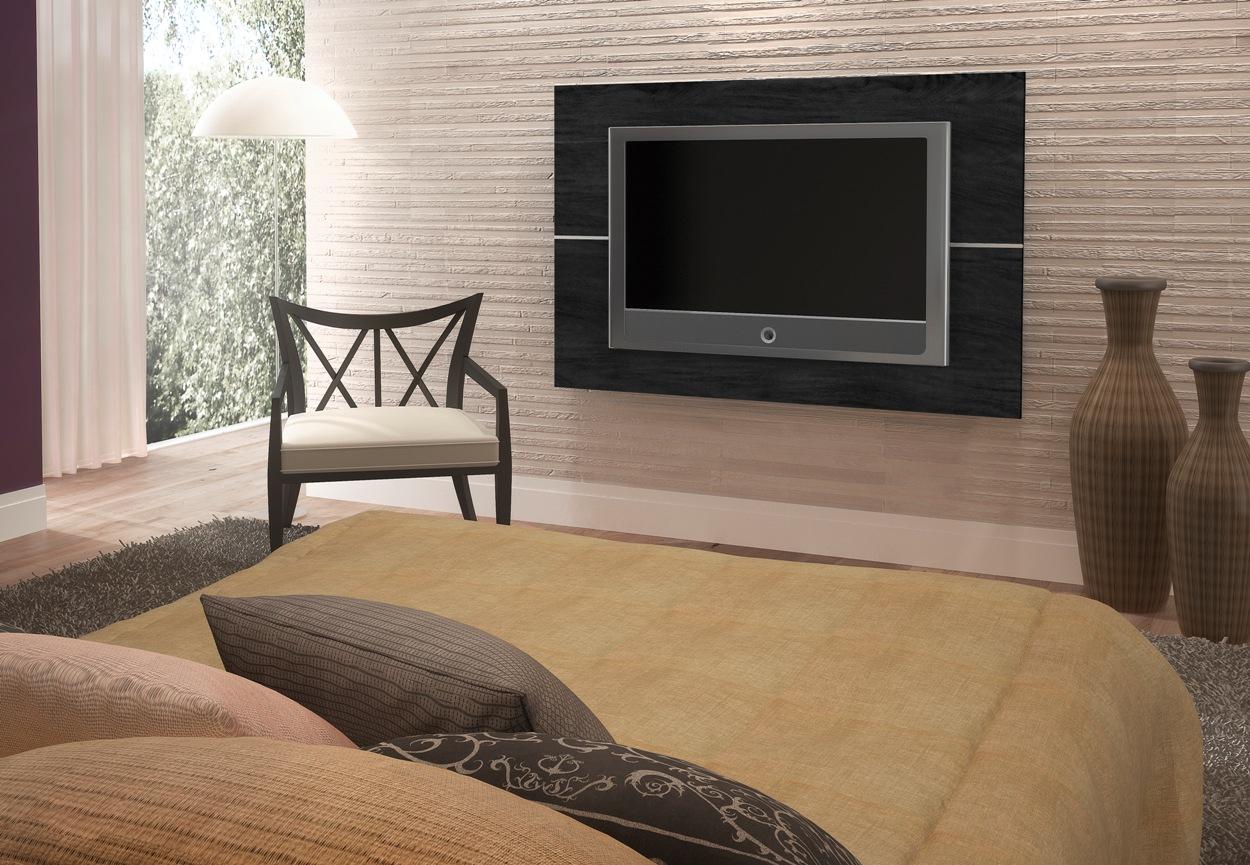 Painel De Tv Para Sala Dicas E Pre Os -> Painel De Sala Com Ceramica