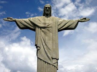 Exemplo de patrimônio material - Cristo Redentor.