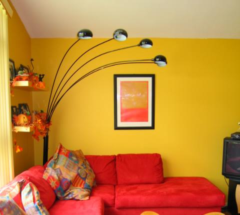 Salas pequenas decoradas dicas e modelos for Pintura para salas pequenas