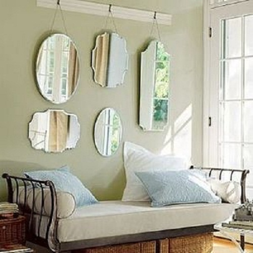 Salas Pequenas Decoradas Com Espelhos ~ Salas pequenas decoradas dicas e modelos