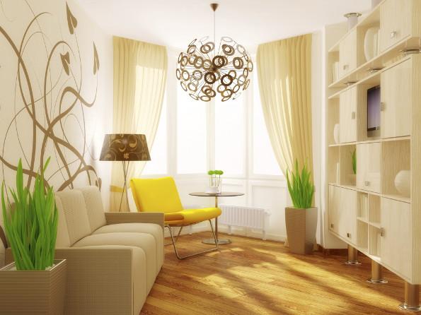 Salas pequenas decoradas dicas e modelos for Ideas para decorar ambientes pequenos
