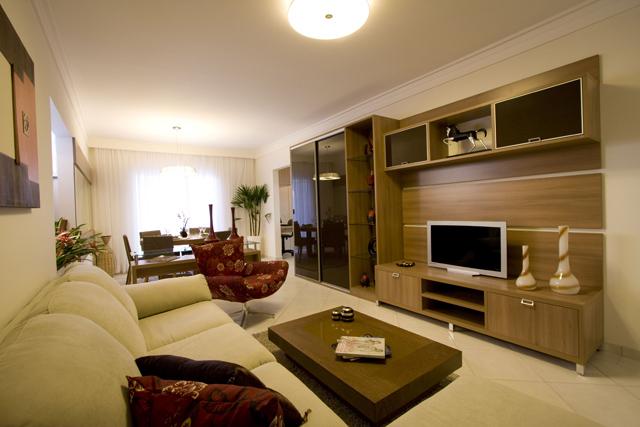 Fotos de salas decoradas for Colores para apartamentos modernos