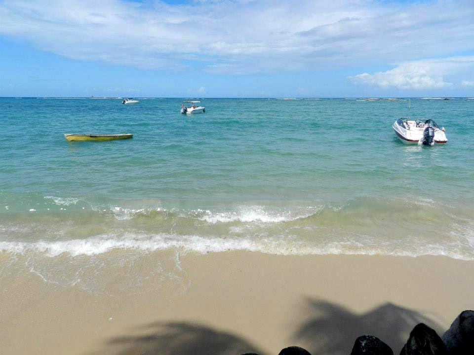 Praia de saída do passei de Morro de SP