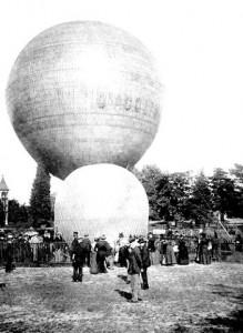 Balão de Santos Dumont no Brasil,
