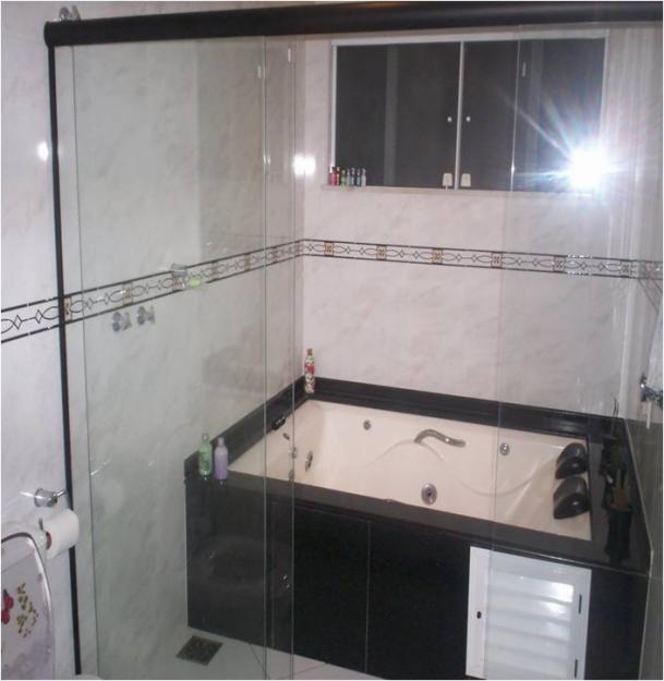 Banheira em apartamento Pequeno Preço , Modelos e Dicas de Compra -> Banheiro De Apartamento Com Banheira