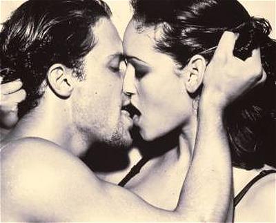 O beijo é um dos meios de ganhar o coração de um homem