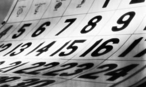 Calendário comemorativo