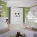 Decoração de quarto infantil feminino
