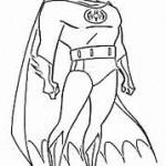 Super Herói Para colorir