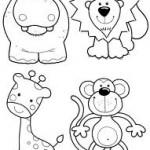 Desenho para colorir de Animais
