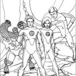 Super Heróis para Colorir