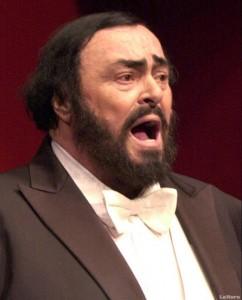 falescido Luciano Pavarotti