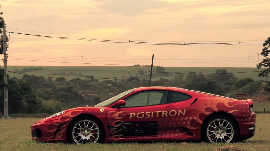 promoção Ferrari pósitron