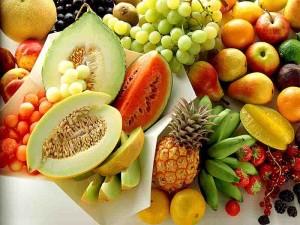 vitaminas em frutas
