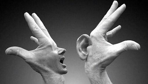 formas de linguagem verbal e não verbal