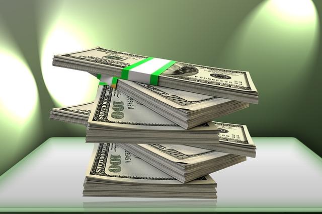 Dinheiro separado