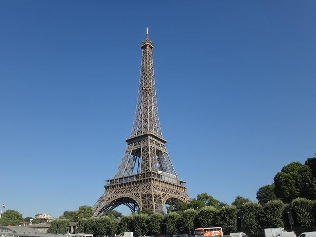 A Torre Eiffel é o ponto turistico mais procurado da França