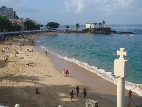 Barra do porto considerada uma das mais belas praias do mundo