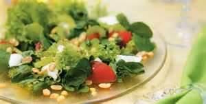 salada com mussarela
