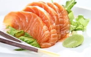 salmão na Churrasqueira v