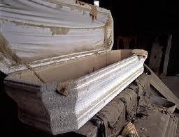 caixão vazio