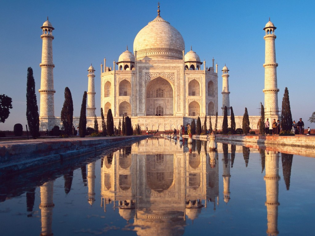 Foto do Taj Mahal