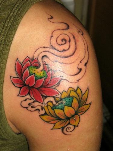 de suas corolas e assim nasceu a flor de lotus bela e pura por mais ...