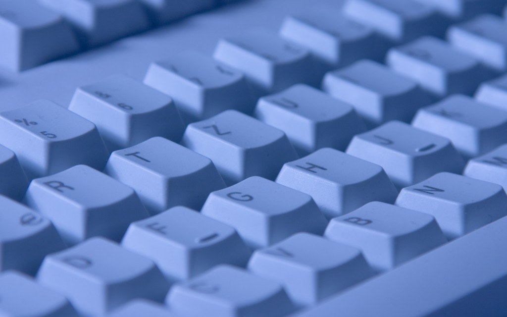com testar as teclas do teclado