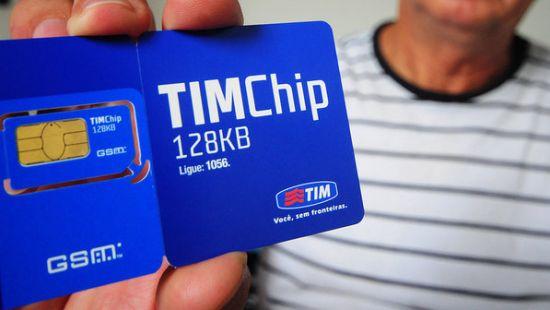 como cadastrar chip da TIM